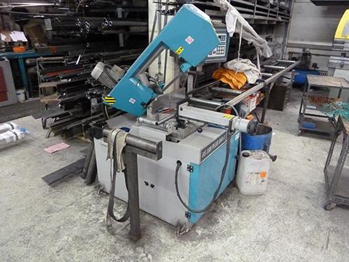 Bandsäge, kann Träger bis 280mm schneiden