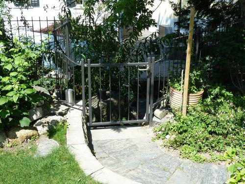 Gartenzaun mit Törli