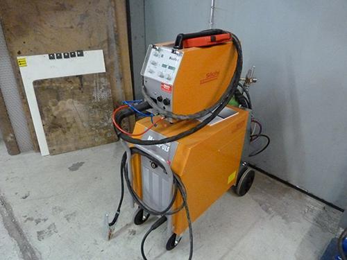 Rehm Megapuls 300, MAG MIG Schweissanlage für Alu und CNS