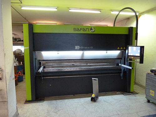 Safan CNC Abkantmaschiene 100t, 3m bis 5mm Stahl