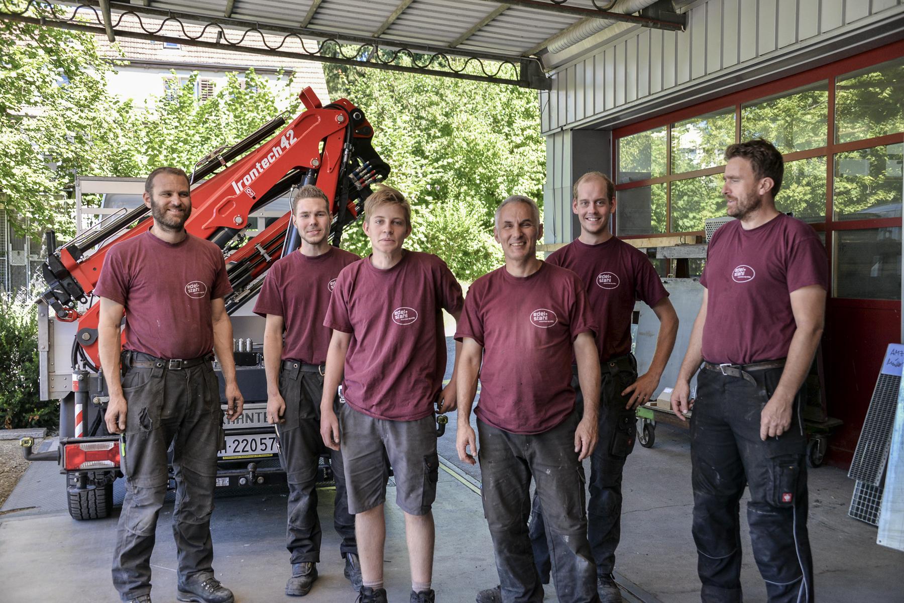 Team Edel + Stahl Metallbau AG